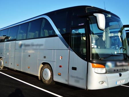 Coach hire in Brive