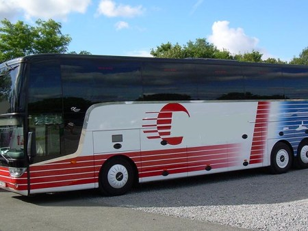 Coach hire with driver in Nantes