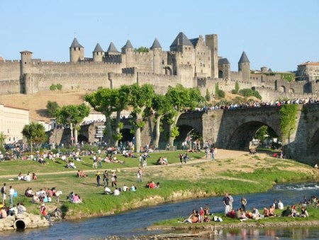 Coach hire in Carcassonne