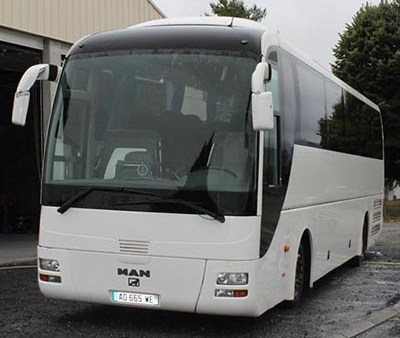 Bus and minibus to hire in Blois