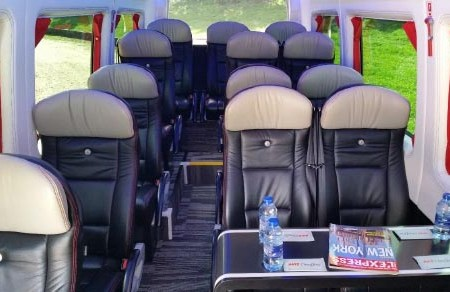 Coach hire in Amneville