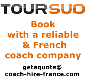 Coach hire in France with Toursud
