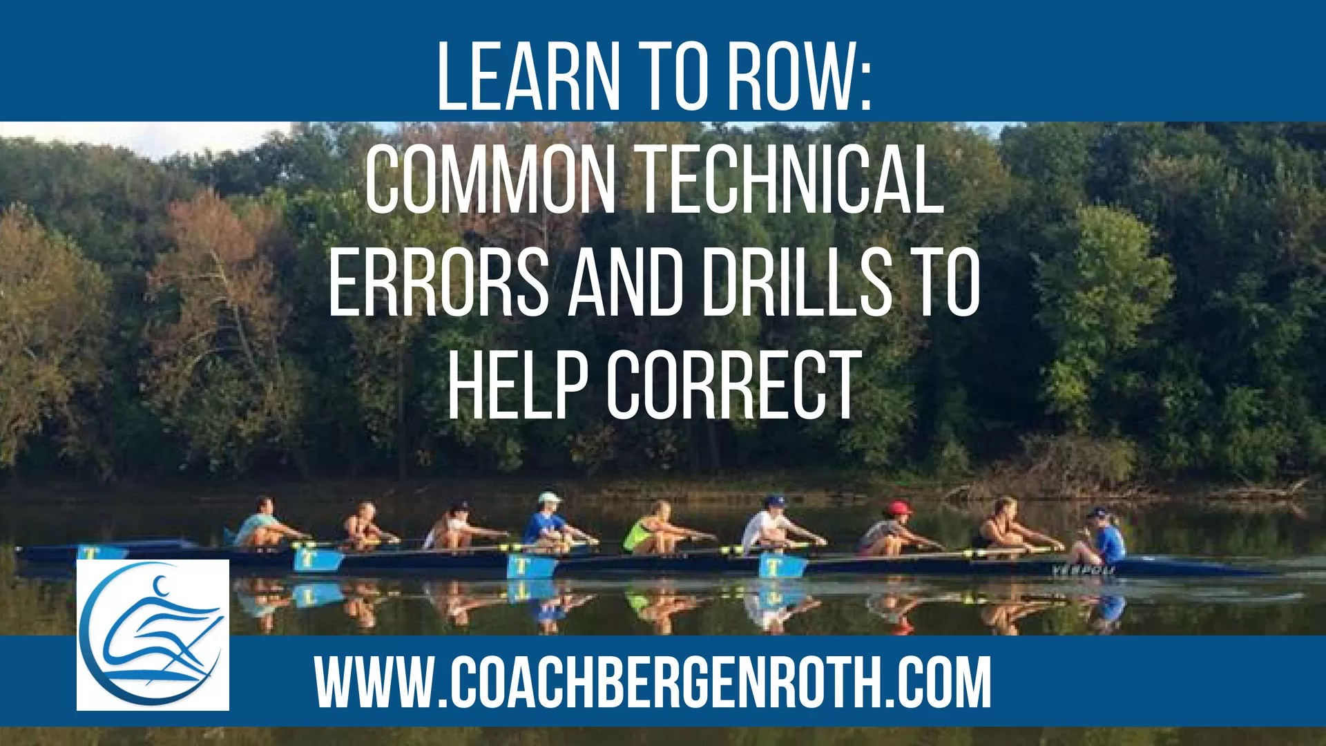 learn to row drills to fix common errors