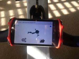 Quiske App On Concept 2 Handle Rowing
