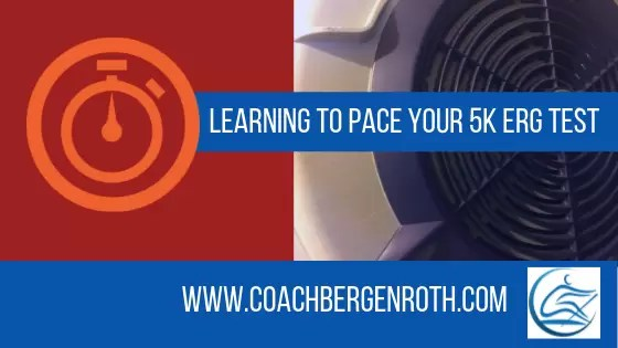 5k row learning to pace fall rowing training