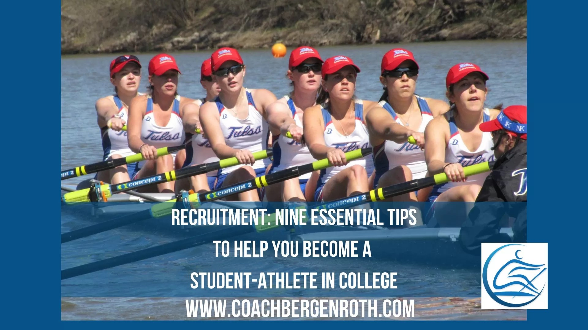 college student athlete recruiting rowing scholarship