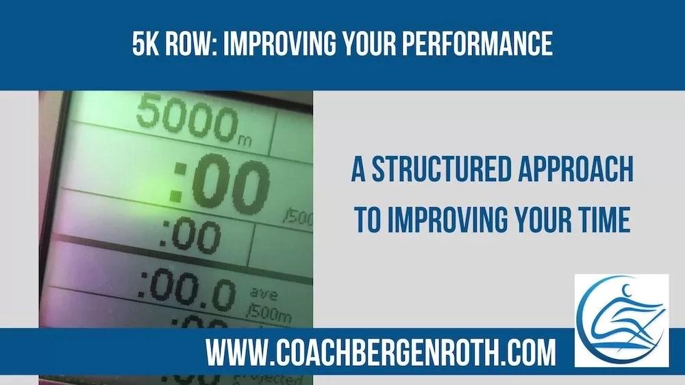 5k row online rowing coach
