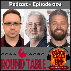 CCAA Round Table - Coach Calls Timeout Basketball Coaching Podcast