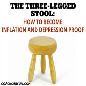The Three-Legged Stool: How to Become Inflation and Depression Proof