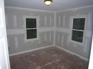 rental house appreciation - remodel - bedroom