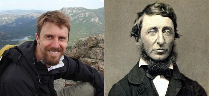 Chad and Thoreau beard