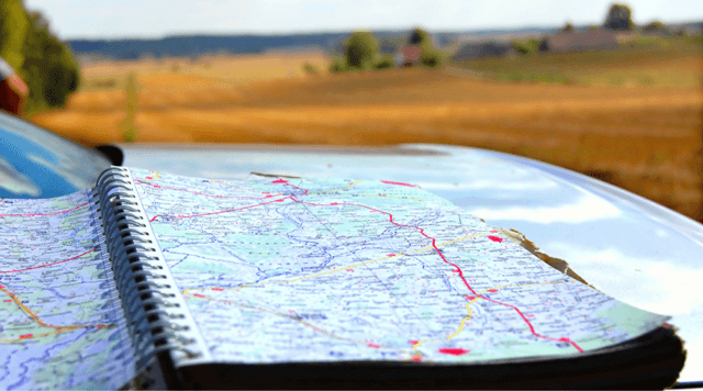 The Best Real Estate Strategy - map of routes