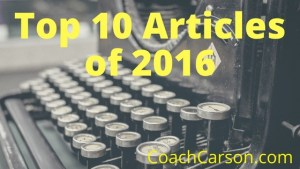 The Best of 2016: My 10 Most Popular Articles of the Year