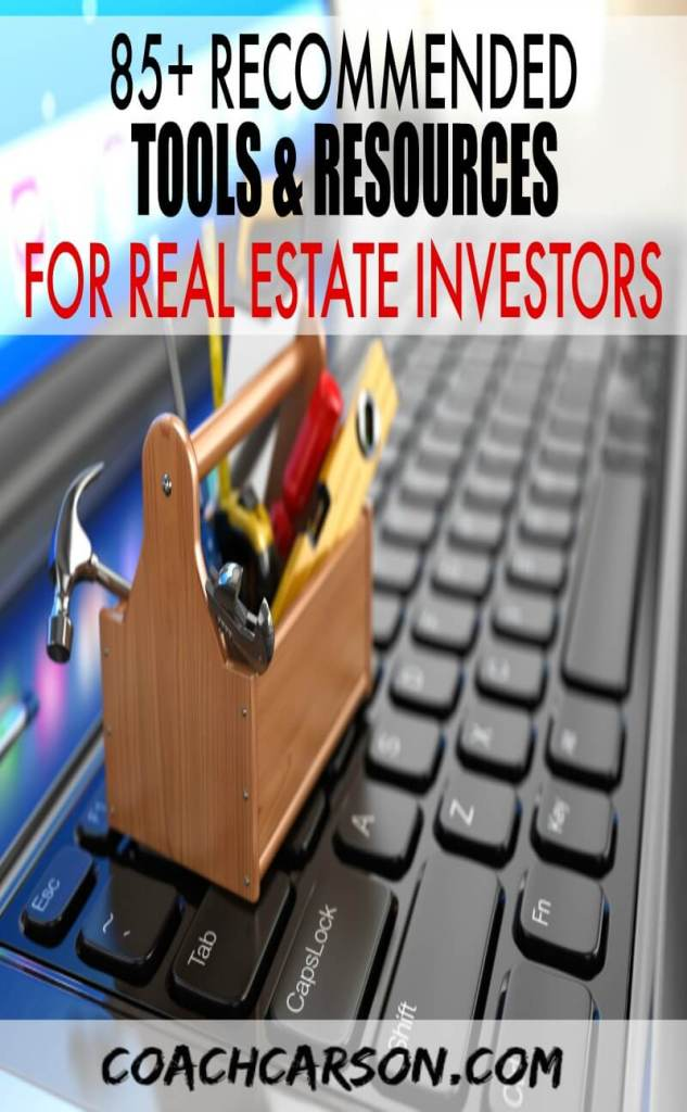 Tools & Resources For Real Estate Investors