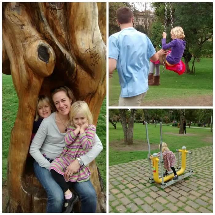 Parque de la Madre - collage