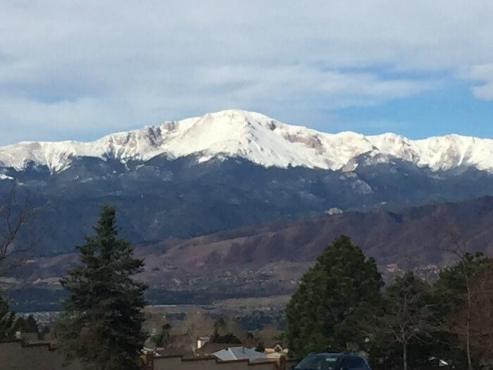 Colorado view mountains - From Corporate Career to Financial Independence in His 50s