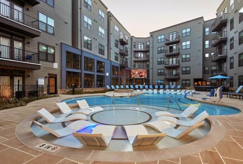 Class A building example - pool - Where to Buy an Investment Property