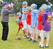 Youth Football Coach Training