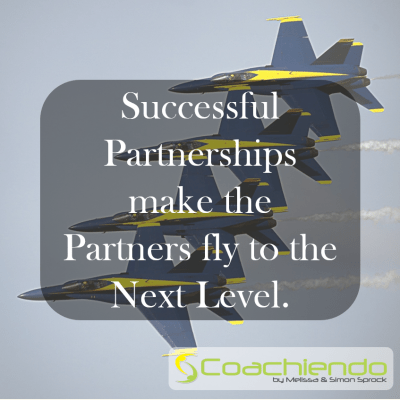 Successful Partnerships make the Partners fly to the Next Level.
