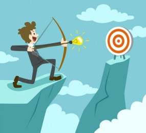 entrepreneur-trying-to-hit-the-target_23-2147505934
