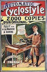 Werbeplakat 1900