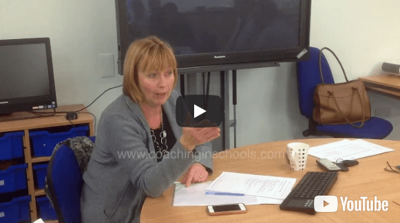 coaching headteachers - head describes how she used Coaching to stops herself drowning and improves schools
