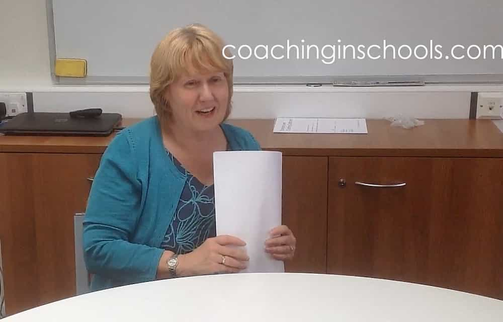 coaching primary school teacher improves learning and writing