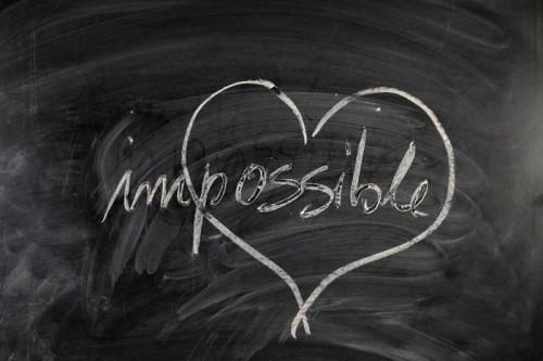 Afbeelding met het woord impossible erop via coachingmetsanne.com life coach Den Haag, coachingtips