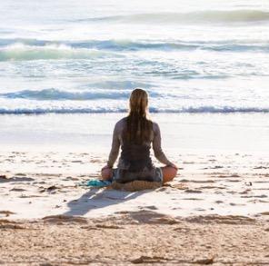 Mediteren in de branding