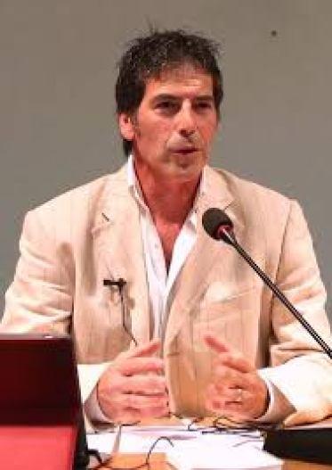 Giancarlo Fornei, durante una sua conferenza sull'autostima a Verona (ottobre 2014)
