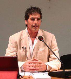 Una bella immagine di Giancarlo Fornei in conferenza a Verona (ottobre 2014)
