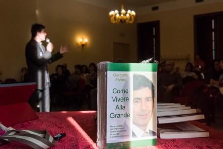 Come Vivere Alla Grande in bella vista, durante il seminario di Giancarlo Fornei a Villa Fenaroli (Brescia) marzo 2015