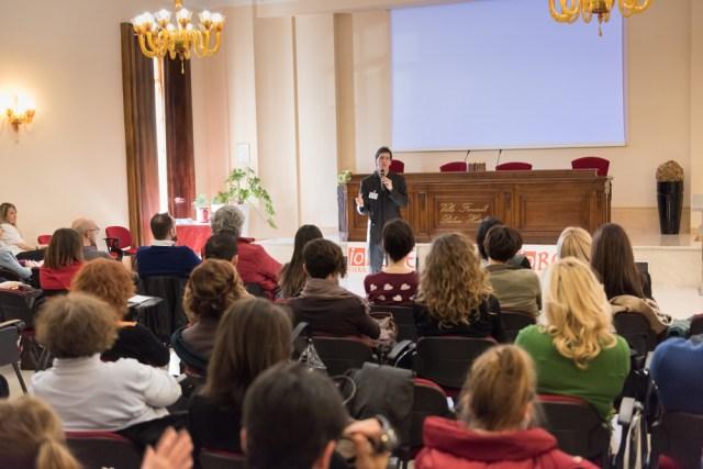 Il coach motivazionale Giancarlo Fornei a Rezzato di Brescia, durante il suo seminario motivazionale di ottobre 2014, ospite della Terza edizione di Io Bene Fiera del Benessere...