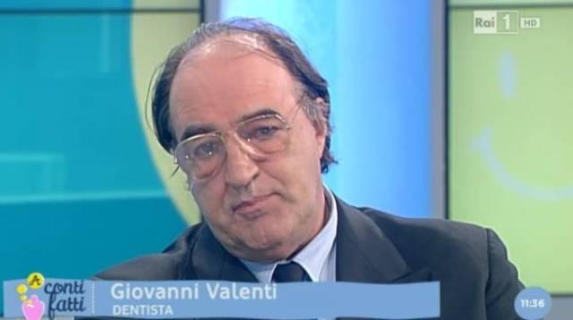 Giovanni Valenti ospite a Rai 1