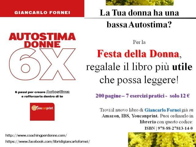 Festa della Donna, regala Autostima Donne 6X