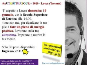 Autostima Seminario Lucca 19 gennaio 2020 - seminario motivazionale con il coach Giancarlo Fornei