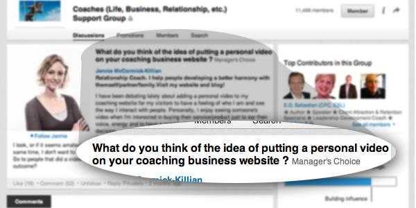 The Relevant Blog Trick for Traffic, Credibility, Clients on LinkedIn