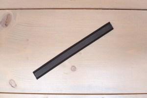 Nylon grip-lijn Zwart