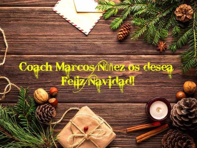 Feliz Navidad por coach Marcos Núñez