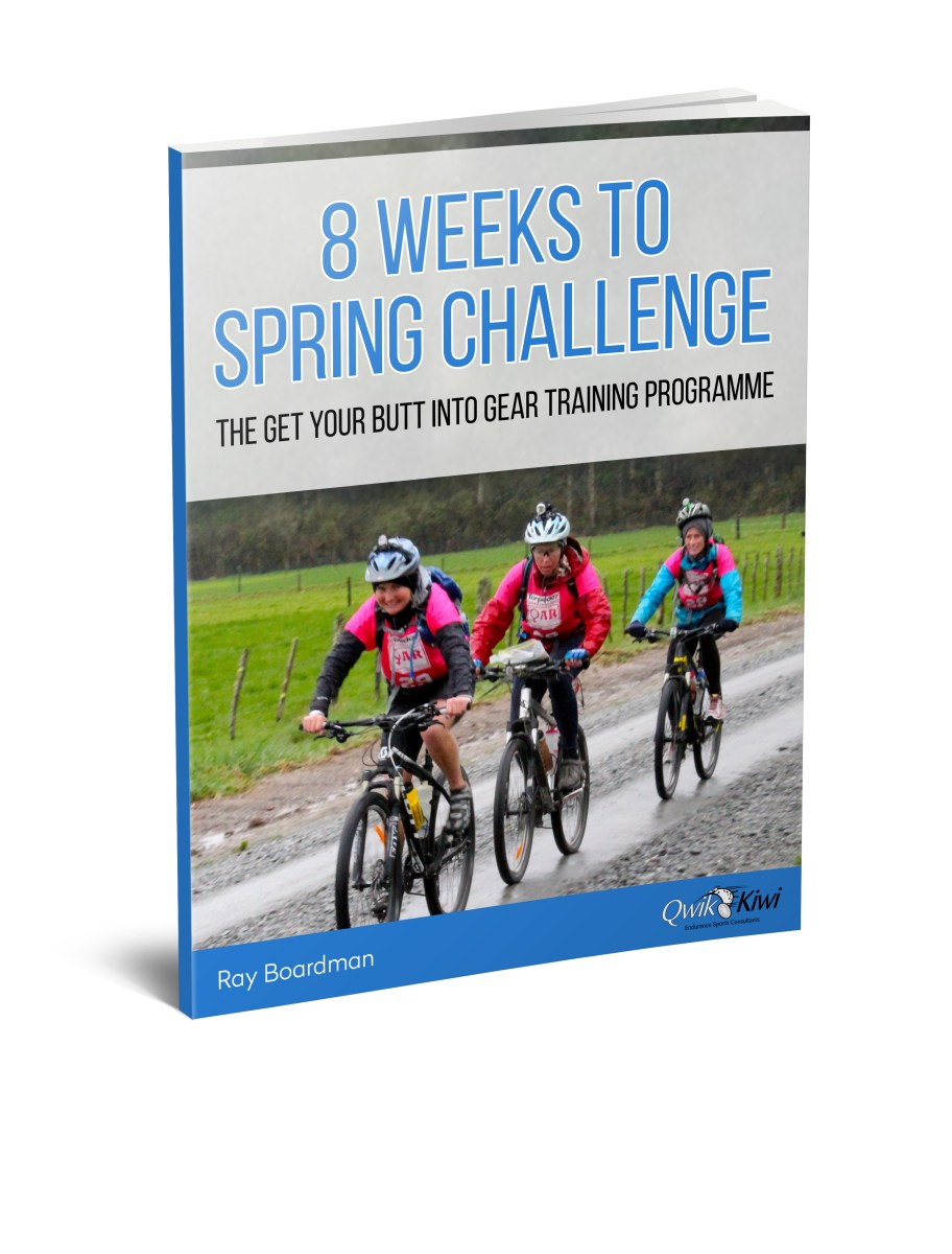 8 Weeks to Spring Challenge