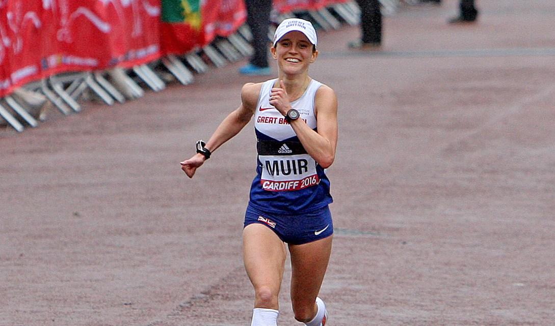 Qwik View: Tina Muir (Elite Female Marathon Runner)