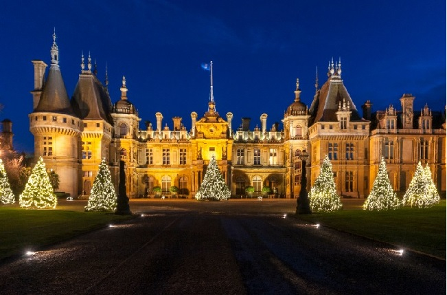 Winter Light At Waddesdon For A Sparkling Christmas