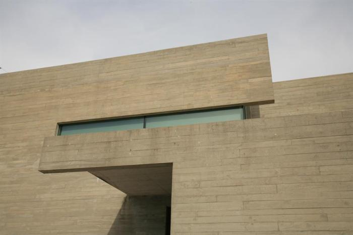 arquitecto baiona pontevedra casa hormigón visto moderna