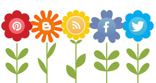 social media flowers2
