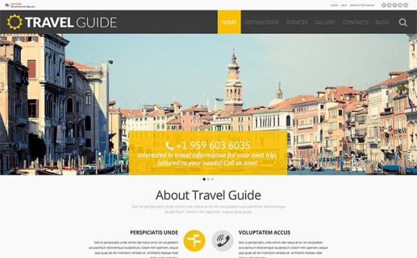 Travel WordPress Template