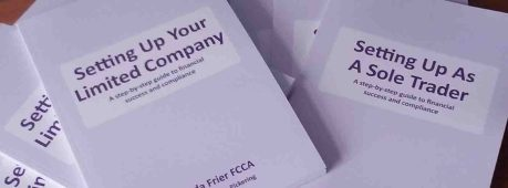 Setting up your new business books