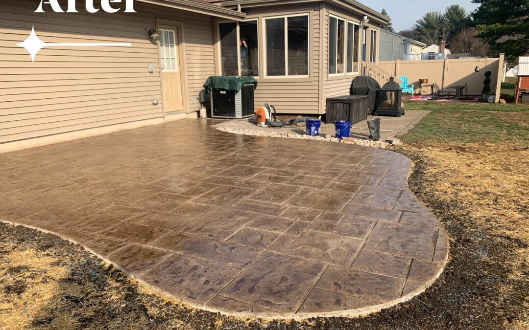 berlin ct stamped concrete patios