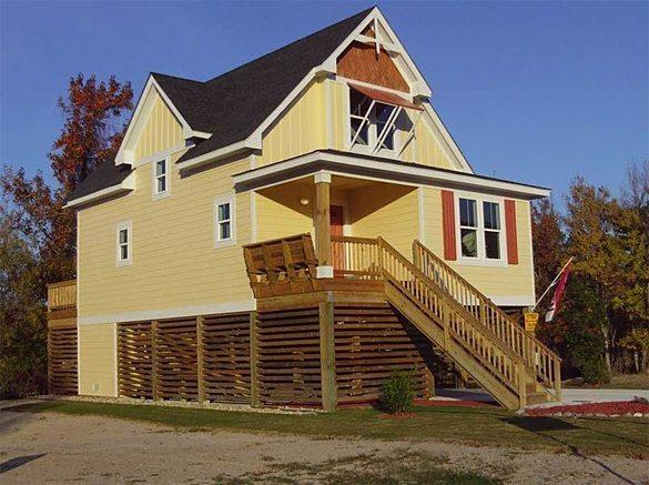 Collins Bungalow Coastal Home Plans