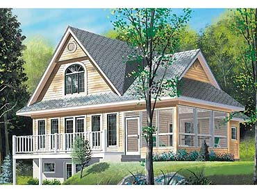 Abington Cottage   Coastal Home Plans Abington Cottage