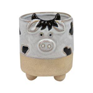 Cow Ceramic Planter